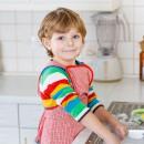 учить ребёнка помогать родителям