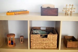 Монтессори-комната для годовалого ребёнка