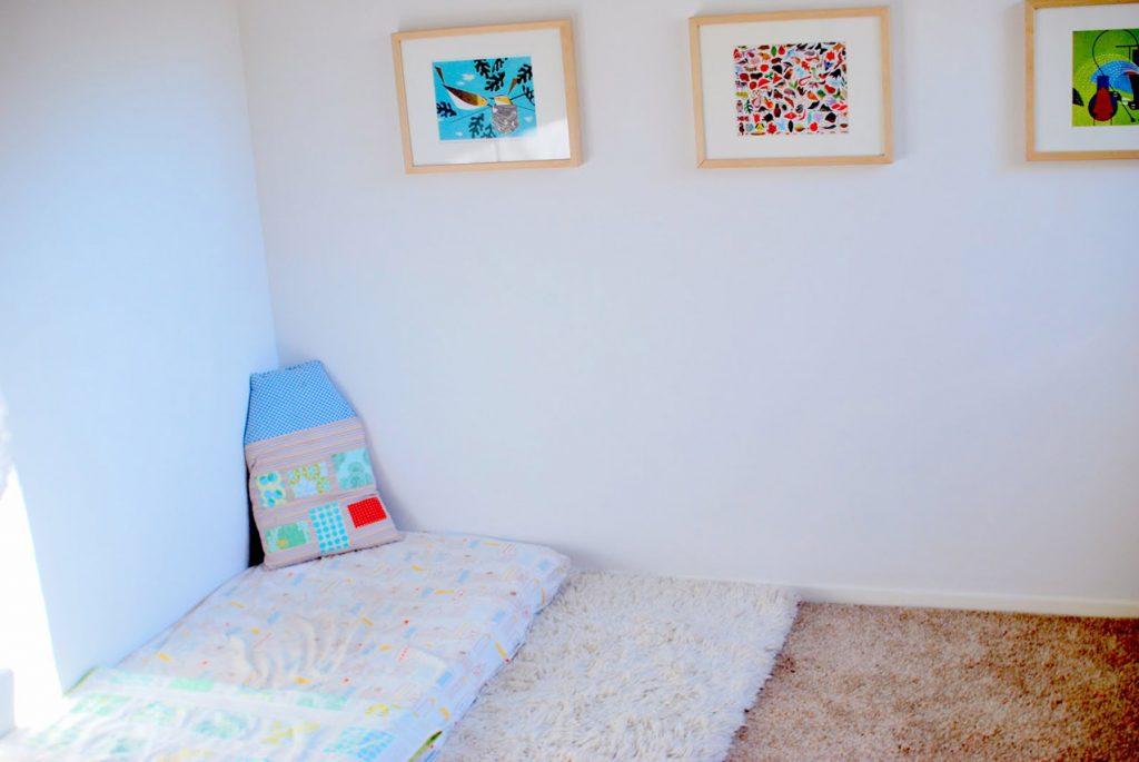 комната для годовалого ребёнка по Монтессори