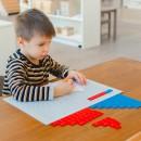 Работа с Монтессори-материалами помогает воспитать волю ребёнка