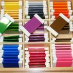 Сенсорные Монтессори-материалы для детей от 3 до 6 лет