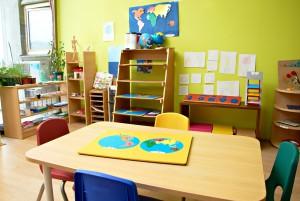 Класс Монтессори позволяет детям развивать воображение