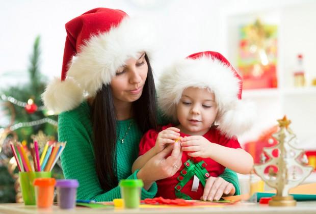 новогодние поделки с детьми