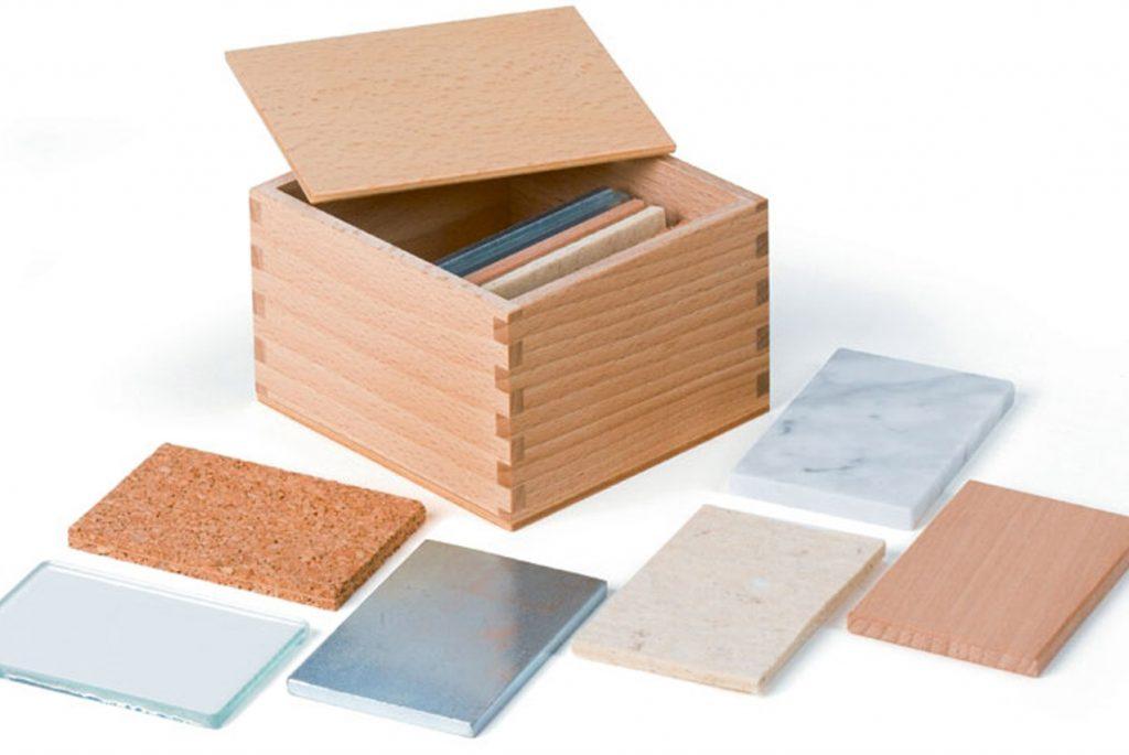 Знакомимся с Монтессори-материалами: тепловые таблички