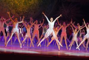 Яркое балетное выступление
