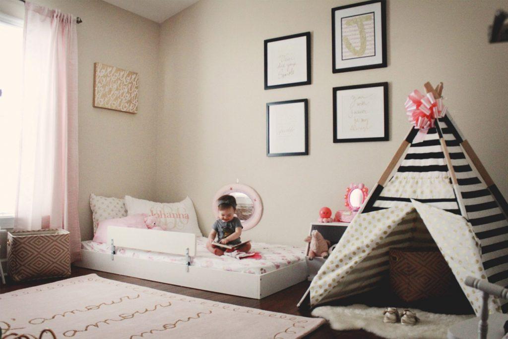 Комната малыша по принципам Монтессори-педагогики: 10 идей