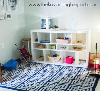Монтессори-комната для разновозрастных детей