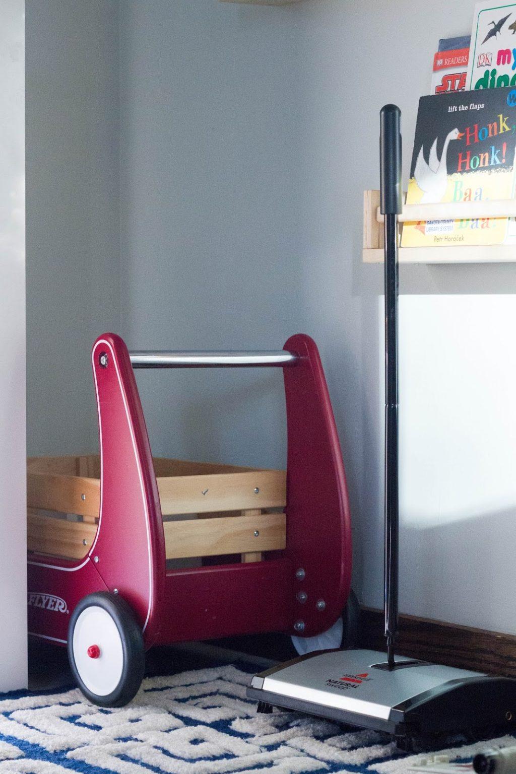 Монтессори-комната для разновозрастных детей идеи