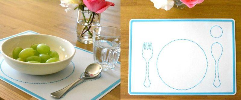 Салфетка-подсказка, которая поможет ребёнку накрыть на стол