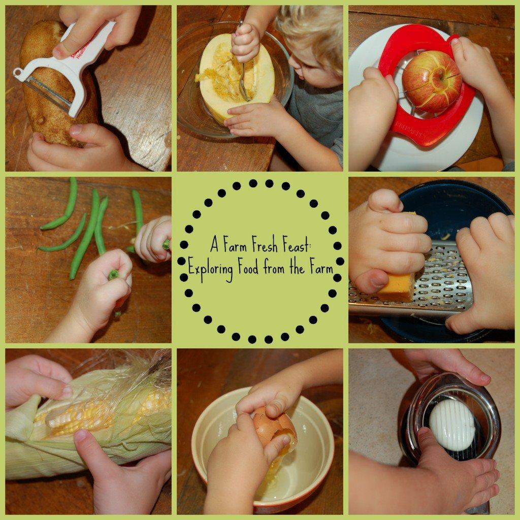 Идеи занятий ребёнка на кухне