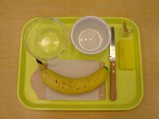 Упражнение «Нарезка банана»
