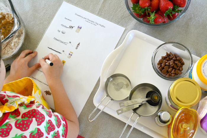 Иллюстрированный рецепт, который поможет ребёнку готовить на кухне