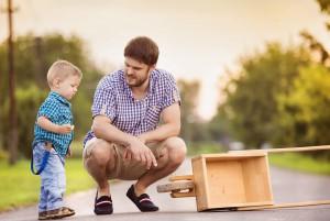 Мальчик и отец