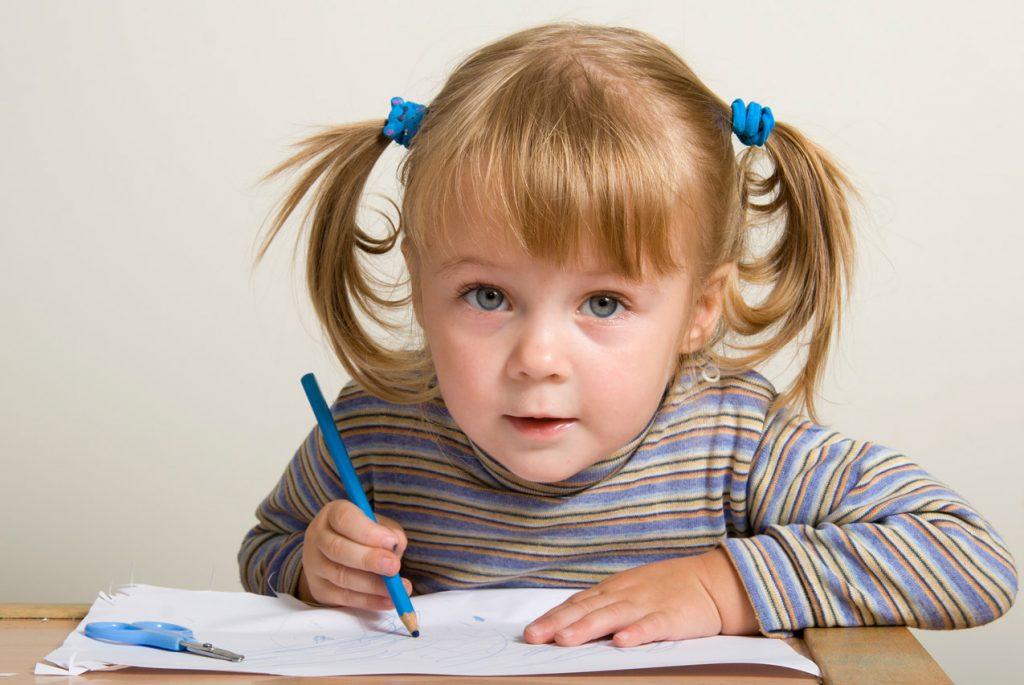 Подготовка руки к письму в системе Монтессори