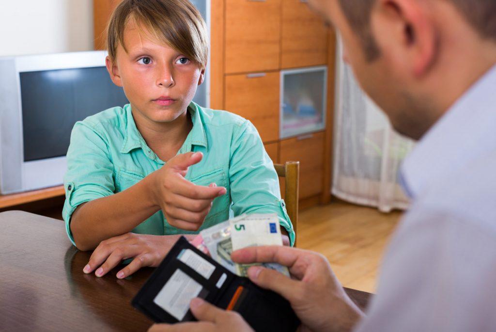 Материальное поощрение деятельности ребёнка: за и против