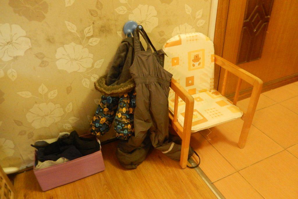 Монтессори-пространство для малыша, которому 1 год 9 месяцев