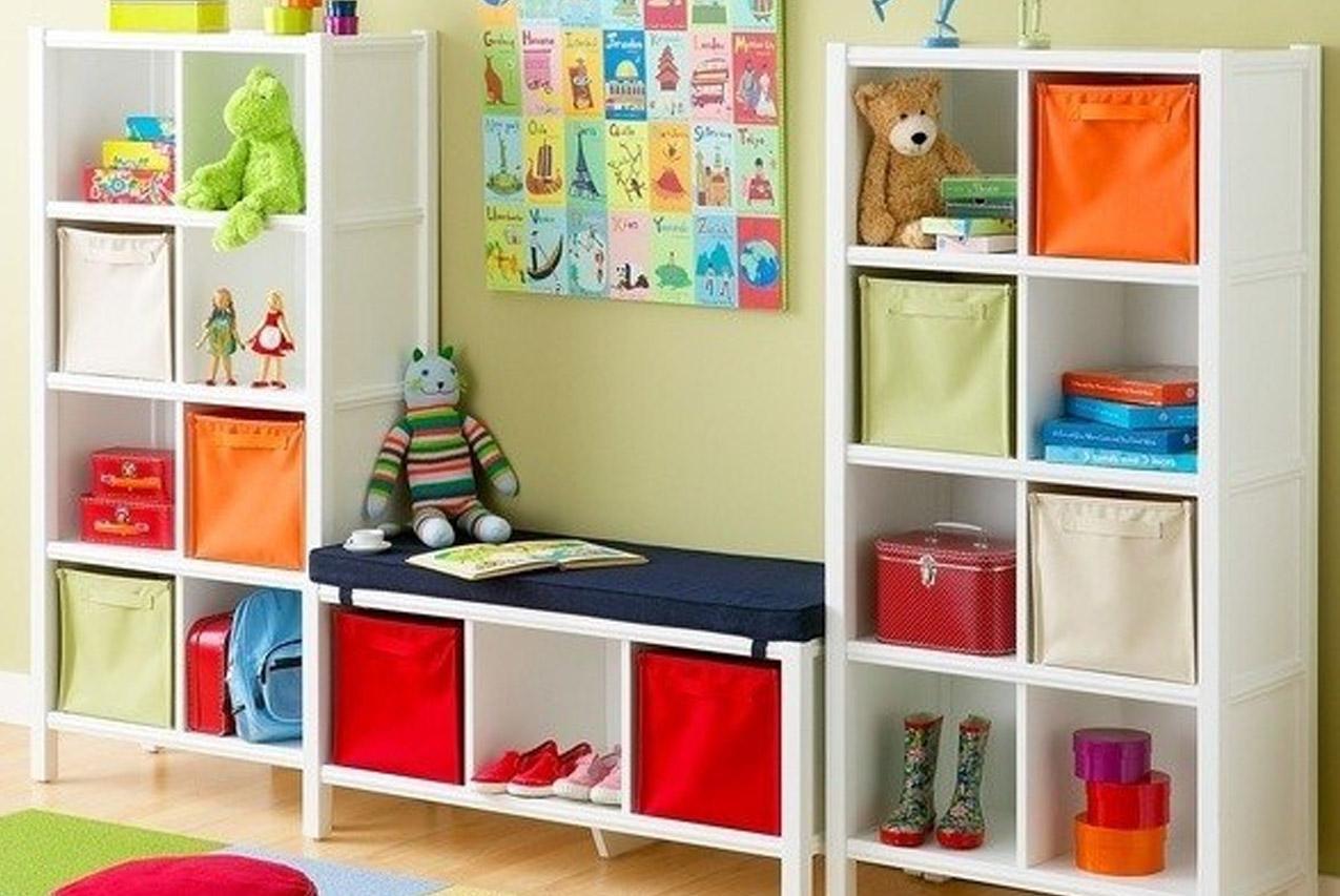 13 идей удобного хранения вещей в детской комнате