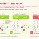 Принципы Монтессори в инфографике