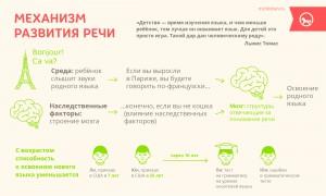Механизм развития речи