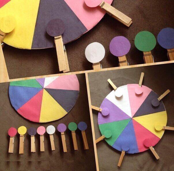 Помогаем выучить цвета