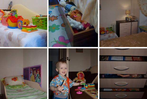 Детская зона в маленькой квартире по принципам Монтессори