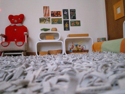 Интерьер Монтессори-комнаты мальчика Винсента