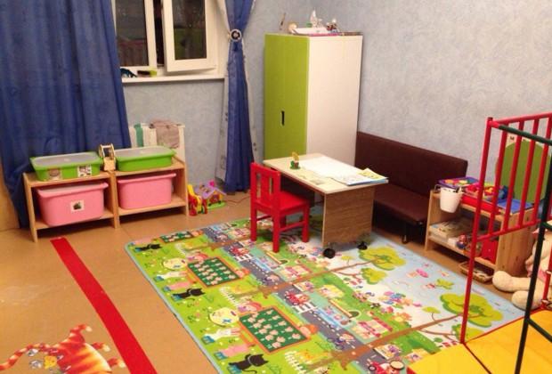 Детская развивающая комната по принципам Монтессори