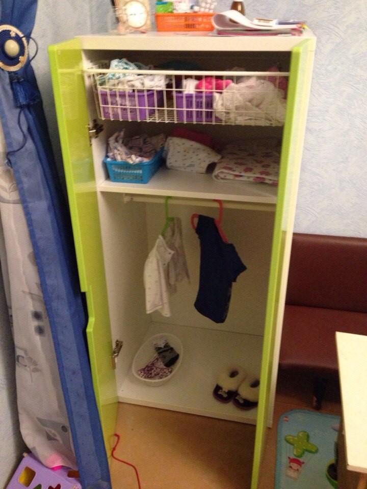 Шкаф по росту ребенка