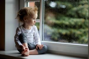 Печальный ребёнок