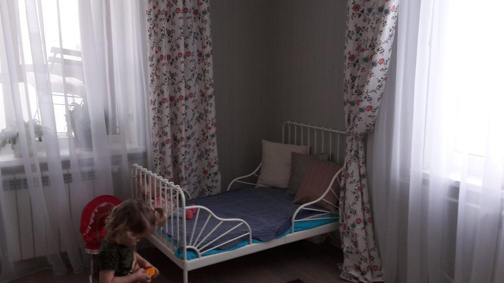Монтессори дома: организация спального места