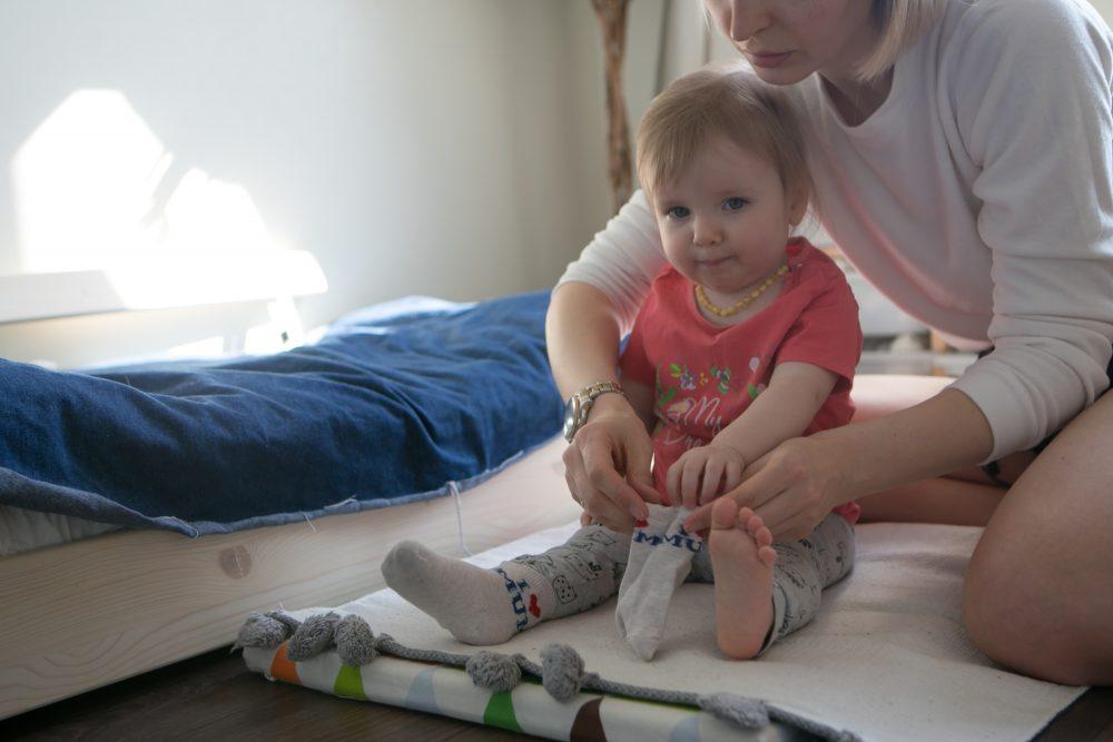 ребёнок и одежда