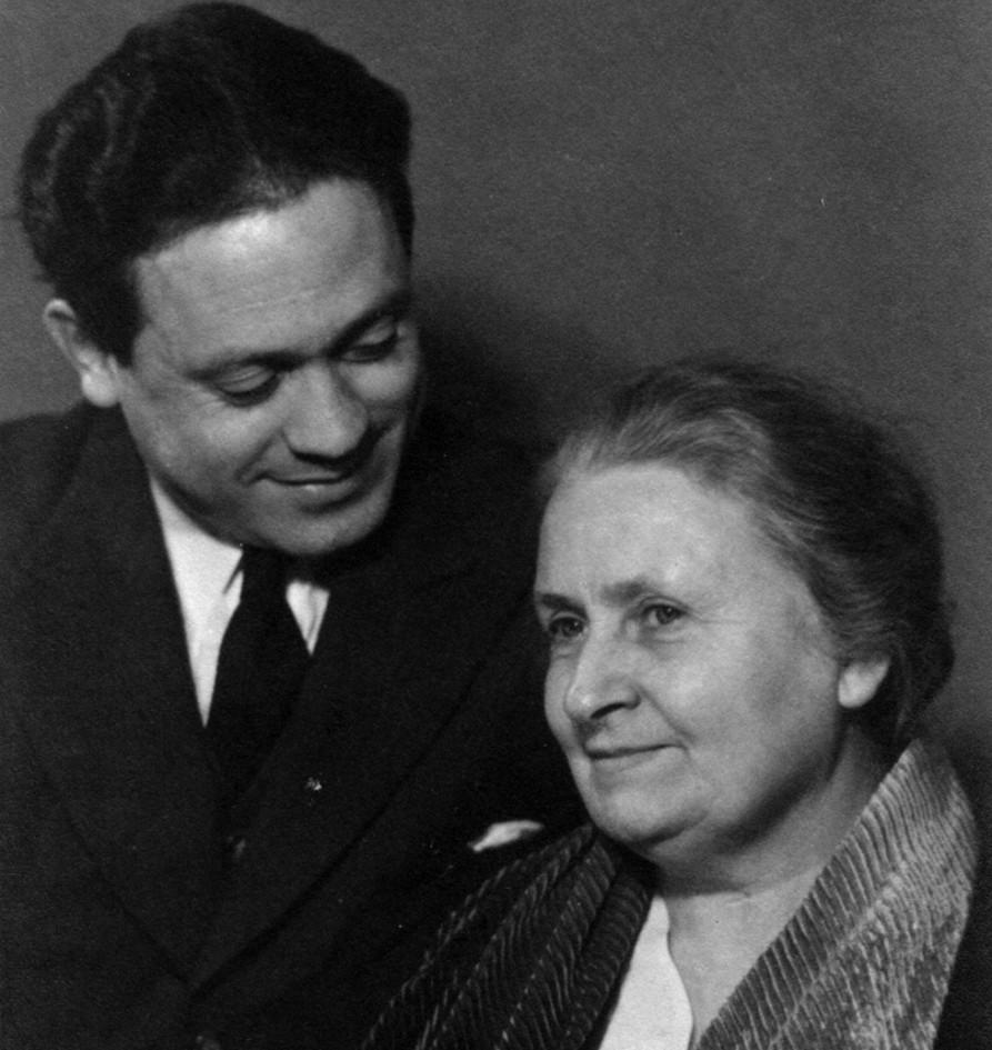 Мария и Марио Монтессори