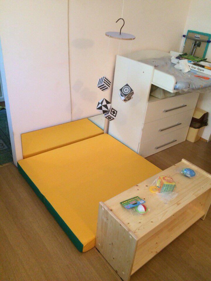 Монтессори-пространство для ребёнка до года