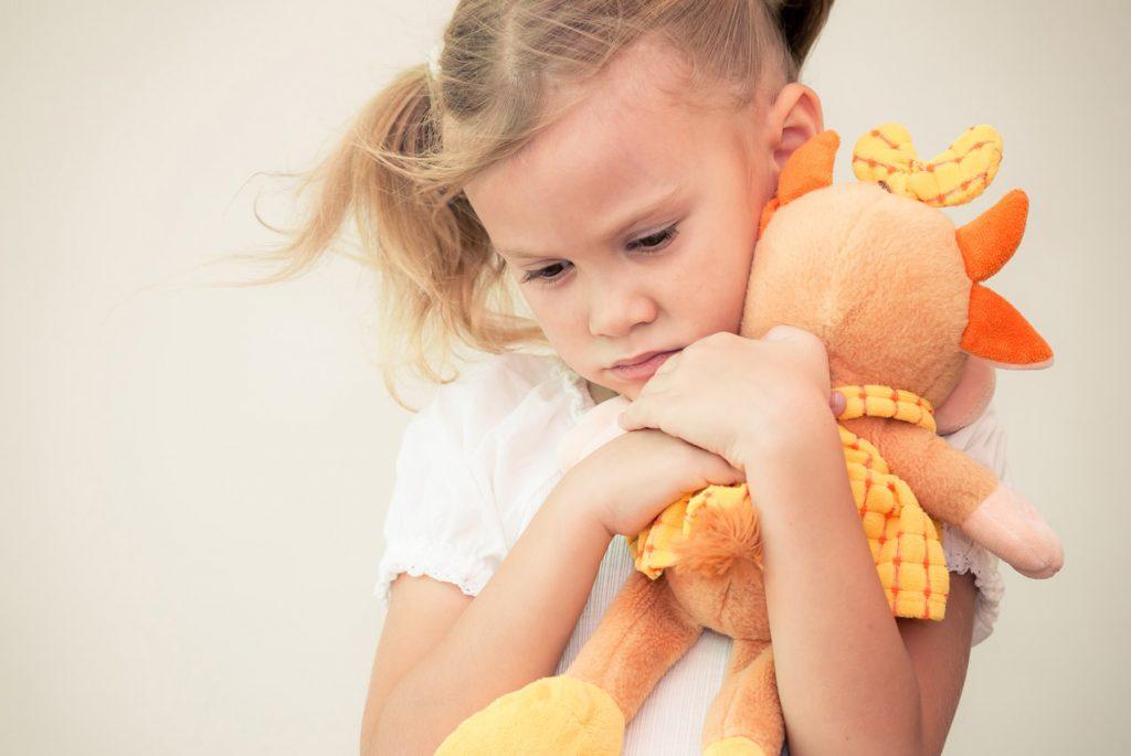Как успокоить тревожного ребёнка