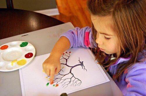 Занятия творчеством с детьми от 1 до 3 лет
