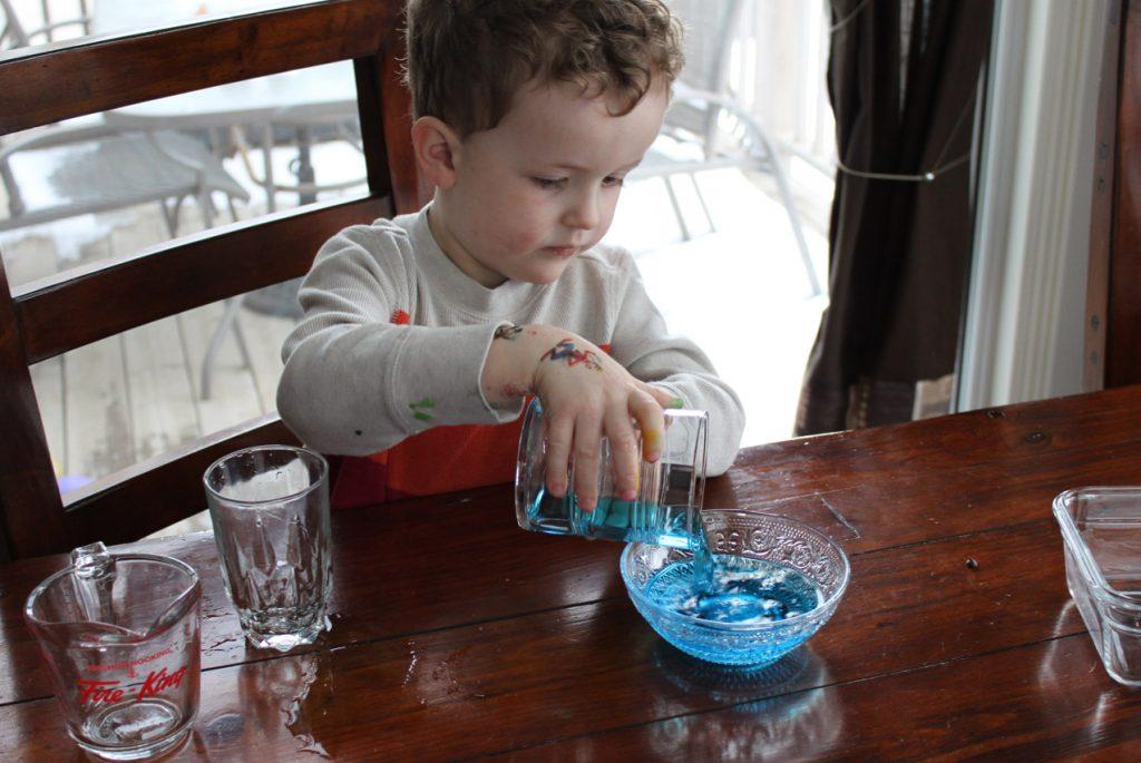 Космическое воспитание детей. Тема «Вода»