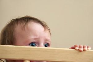 Малыш боится