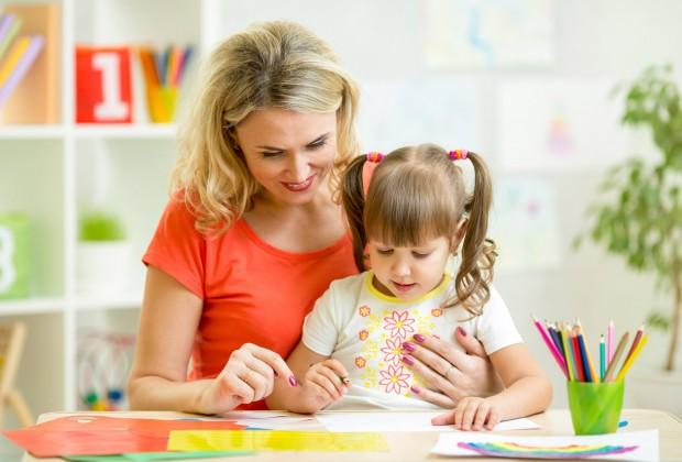 мама и дочка язык к языку
