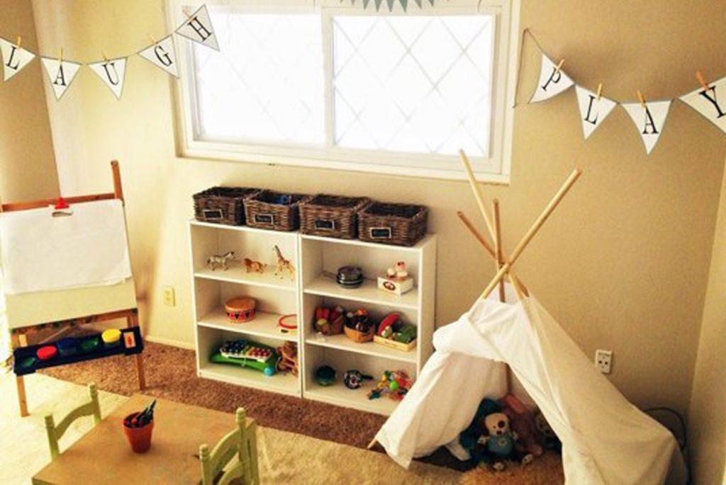 Вдохновляющая Монтессори-комната для двух братьев