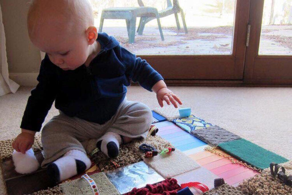 Сенсорное развитие для малышей до 1,5 лет