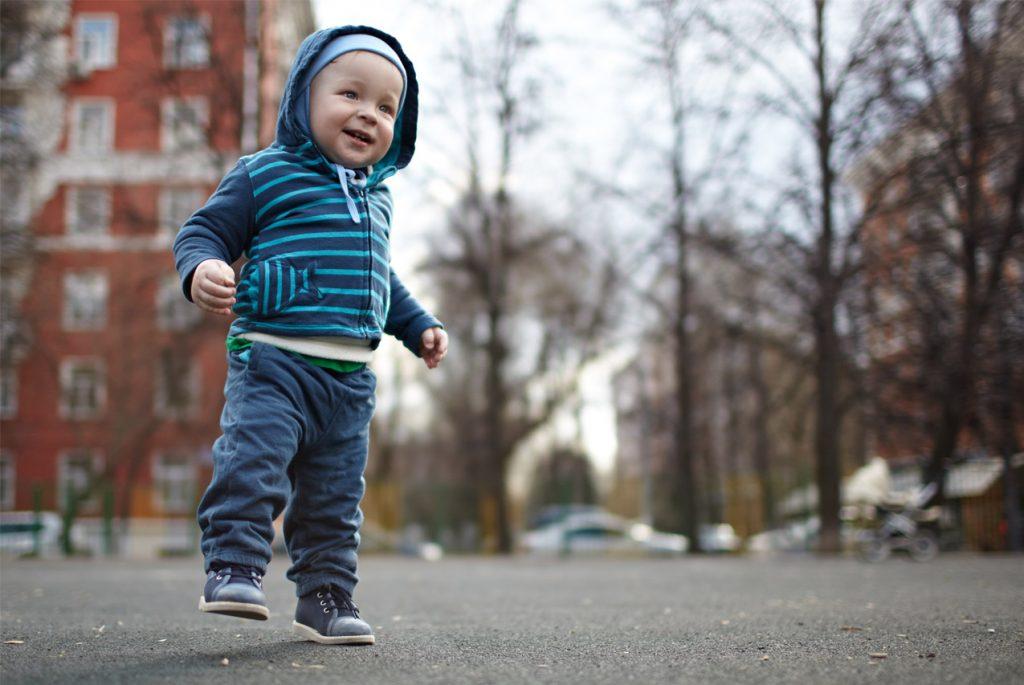 прогулки с ребёнком