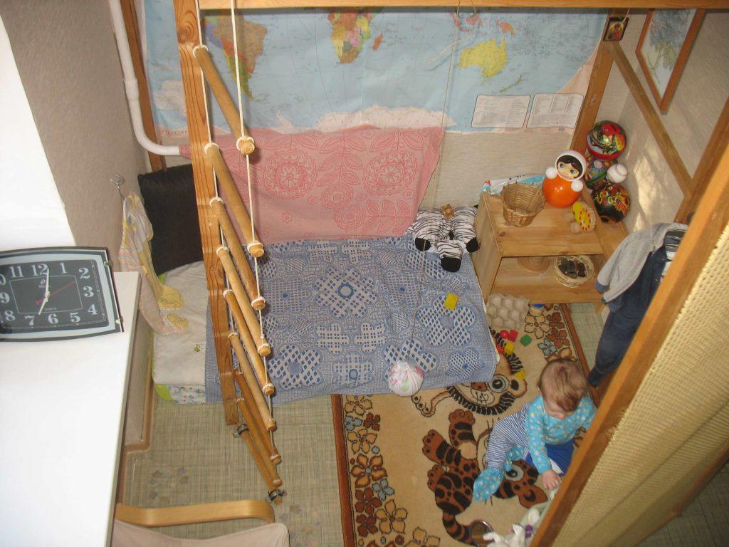 Монтессори-среда в маленькой комнате