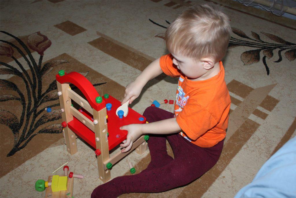 Монтессори-пространство для ребёнка