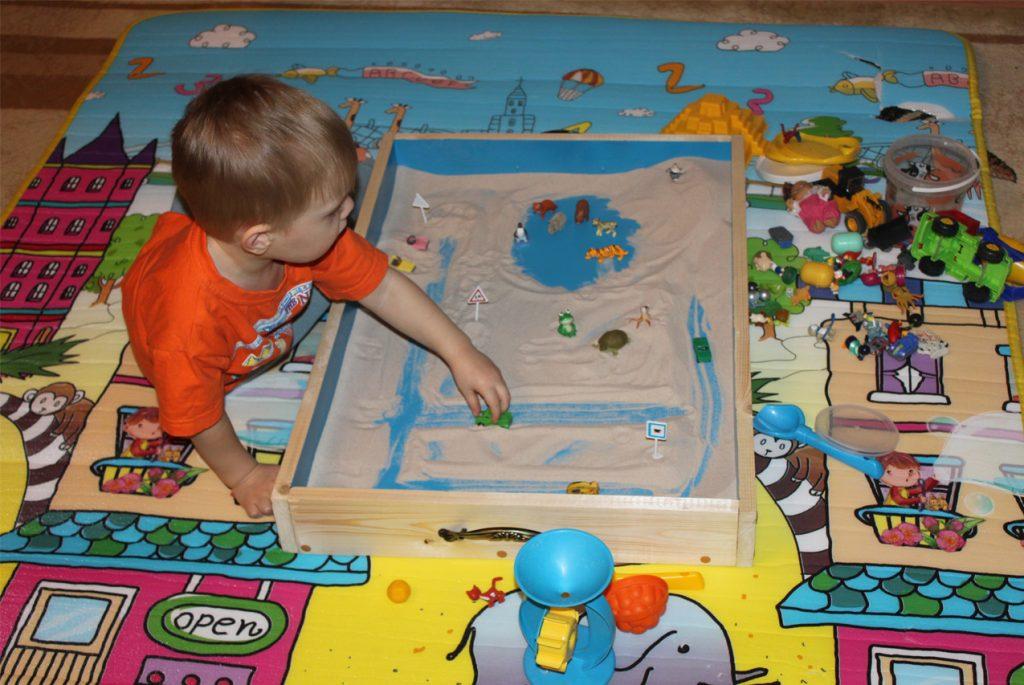 Монтессори-пространство для ребёнка в доме