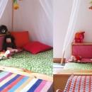 Напольная кровать по системе Монтессори