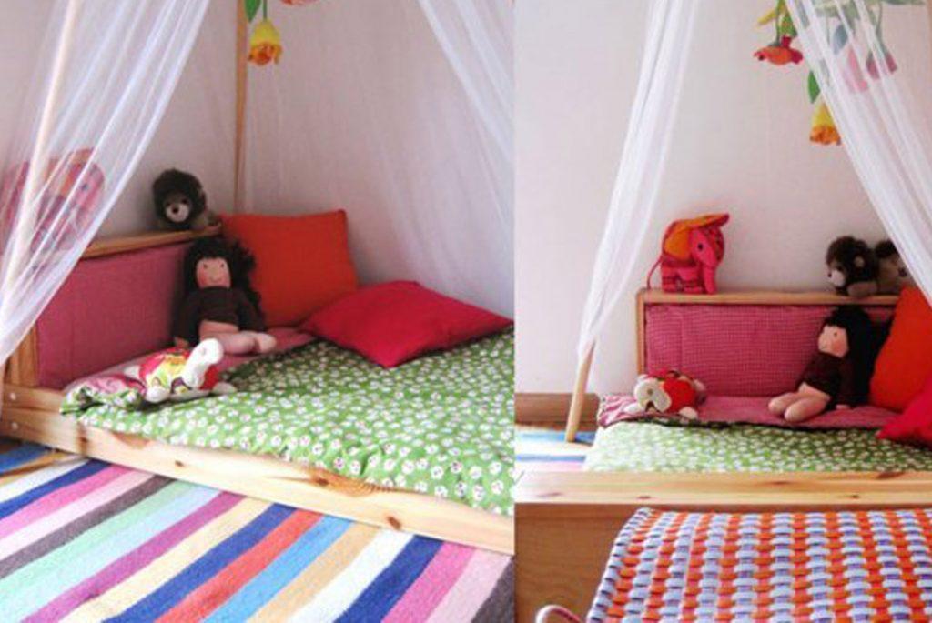 Низкие кроватки в монтессори: почему дети спят на полу?.