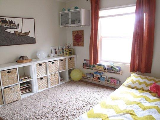 детская кровать по Монтессори