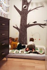 Низкая кровать по Монетссори