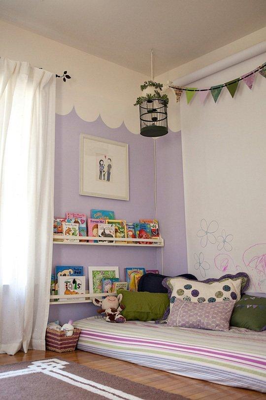 Детская кроватка по методу Монтессори