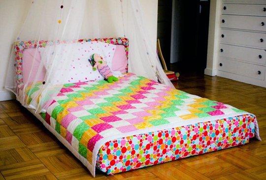 Детская напольная кровать